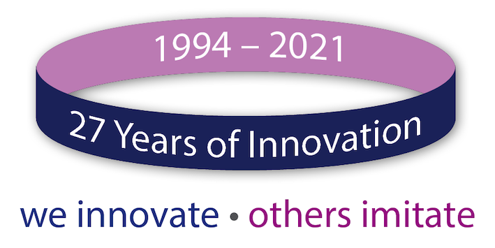24 years of innovation